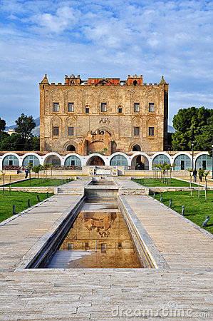 Free The Arab Palace, The Zisa, Palermo. Royalty Free Stock Image - 22482006