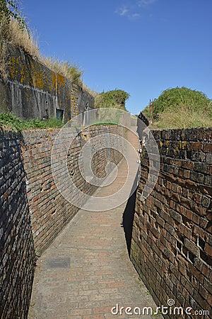 Free The Atlantic Wall Stock Photo - 36196130