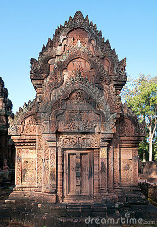 Free The Banteay Srey Temple In Siem Reap, Cambodia Royalty Free Stock Photography - 22193297