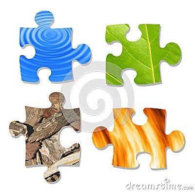 Free The Basic Elements Stock Image - 124631