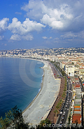 Free The Beach At Nice, France Royalty Free Stock Photo - 1109305