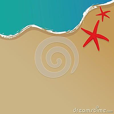 Free The Beach Vector Stock Image - 25655531