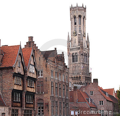 Free The Belfry Of Bruges Belgium Stock Photos - 18389503