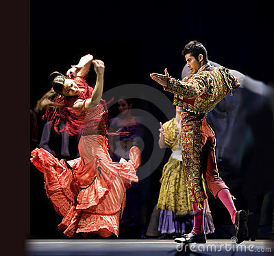 Free The Best Flamenco Dance Drama : Carmen Royalty Free Stock Photo - 15464815