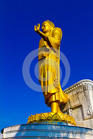 Free The Big Golden Buddha Statue Stock Photography - 41508702