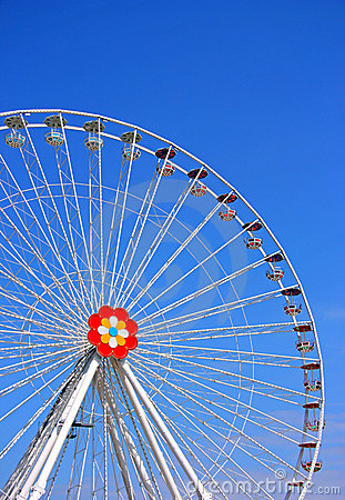 Free The Big Wheel From Prater Stock Images - 4110604