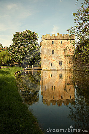 Free The Bishops Palace Gatehouse, Wells Stock Photo - 5170740