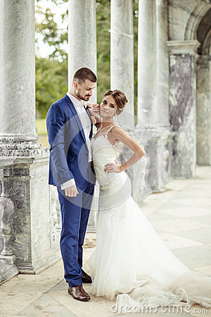 Free The Bride And Groom Stock Image - 83532071
