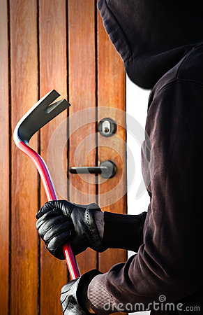 Free The Burglar Royalty Free Stock Images - 33472699