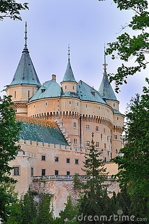 Free The Castle Bojnice Stock Photography - 9422022