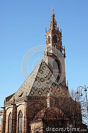 Free The Cathedral Of Bolzano Stock Photography - 3950562