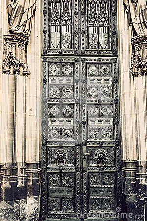 Free The Cathedral Of Cologne Detail Stock Image - 47973571