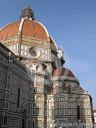 Free The Cathedral Of Florence Italy Royalty Free Stock Photo - 45389885