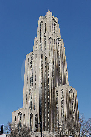 Free The Cathedral Of Learning In Pittsburgh Royalty Free Stock Photography - 694107