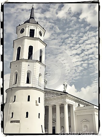 Free The Cathedral Of Vilnius Royalty Free Stock Images - 27859359