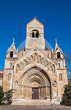 Free The Chapel Of Jak In Vajdahunyad Castle Located In The City Park Of Budapest, Hungary. Royalty Free Stock Image - 78754666