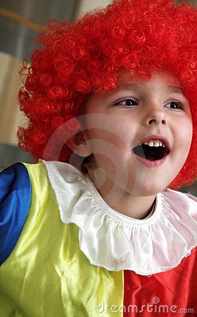 Free The Cheerful Clown Stock Images - 7733654