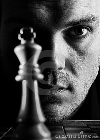Free The Chess Player Royalty Free Stock Photo - 23527475