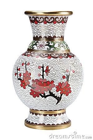 Free The Chinese Vase. Stock Image - 21462741