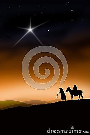 Free The Christmas Way Stock Photography - 7254732