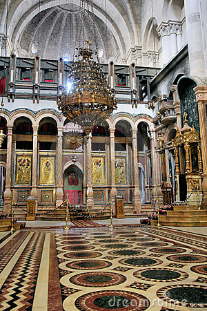 Free The Church Of The Holy Sepulchre Royalty Free Stock Photos - 3950198