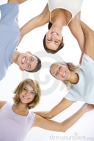 Free The Circle Of Friends Stock Photo - 6448720