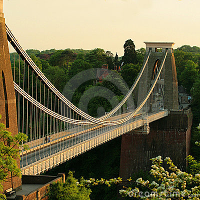 Free The Clifton Suspension Bridge Bristol Royalty Free Stock Photo - 5176115