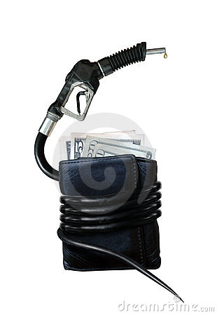 Free The Cost Of Gasoline Royalty Free Stock Photography - 4642307