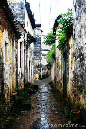 Free The Countryside Scenery Of Wuyuan Ancient Village Stock Image - 128453531