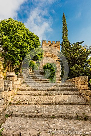 Free The Crusader Castle Byblos Jbeil Lebanon Stock Photo - 122120810