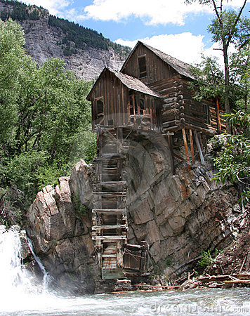 Free The Crystal Mill Stock Photo - 12522760