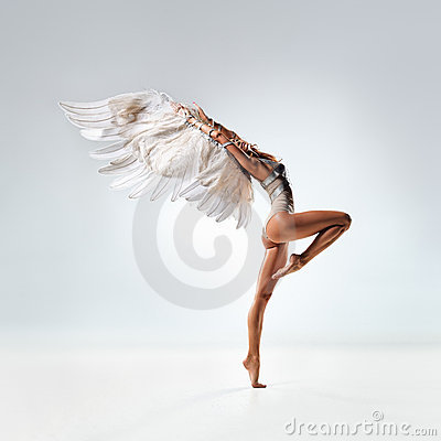 Free The Dancer Royalty Free Stock Image - 20670516