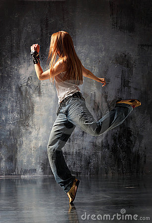 Free The Dancer Royalty Free Stock Photo - 9543325