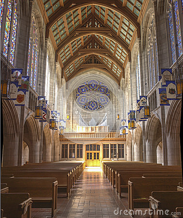 Free The Detailed Architecture Of St. Johns Church. Royalty Free Stock Images - 40933819