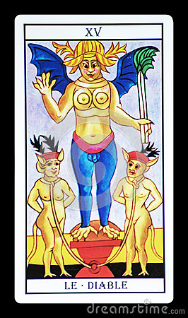 Free The Devil In The Tarot Royalty Free Stock Image - 67107396