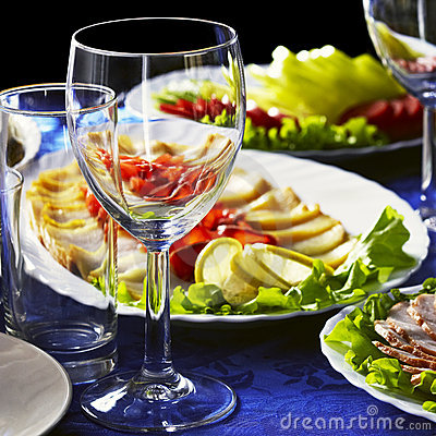 Free The Dinner Is Served Stock Photography - 11478272