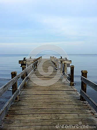 Free The Dock Stock Images - 100893684