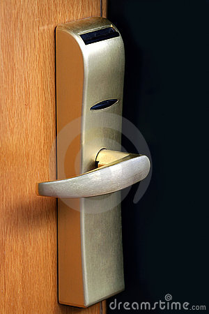 Free The Door Handle Royalty Free Stock Image - 2644476