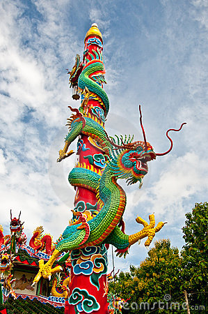 Free The Dragon Pole Royalty Free Stock Photo - 16287685