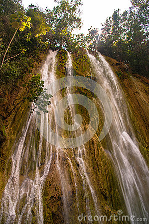 Free The El Limon Waterfall Royalty Free Stock Image - 39255326