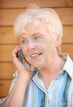 Free The Elderly Woman Stock Photos - 4297703