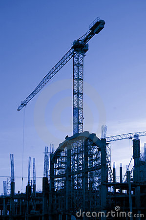 Free The Elevating Crane Royalty Free Stock Image - 11745626