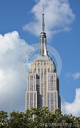 Free The Empire State Building Royalty Free Stock Image - 34037826