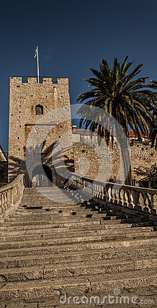 Free The Entrance To The Old Town Of Korcula Royalty Free Stock Images - 67698929