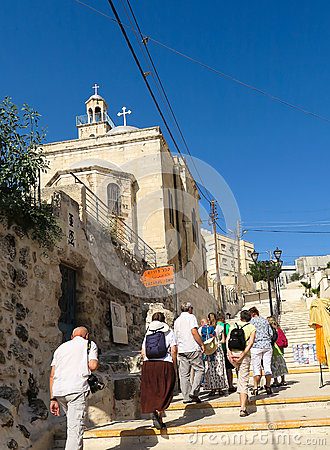 Free The Entrance To The Tomb Of Lazarus Resurrected By Jesus Stock Image - 68413361