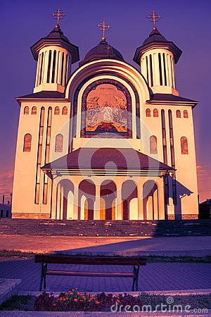 Free The Episcopal Cathedral Of Drobeta Turnu Severin City Royalty Free Stock Photo - 113678465
