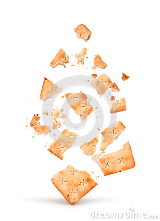Free The Explosion Of The Cracker Into Pieces Royalty Free Stock Photos - 66021368