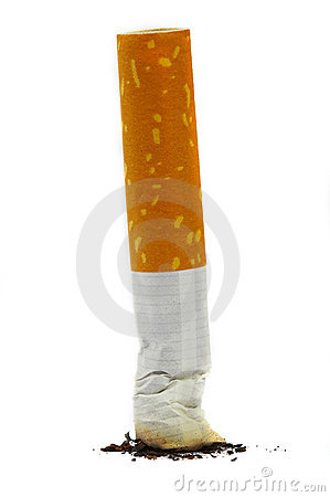 Free The Extinguished Stub Of A Cigarette Stock Images - 1723064