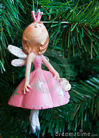Free The Fairy In A Pink Dress Royalty Free Stock Image - 12941766