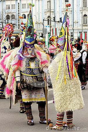 Free The Festival Of The Masquerade Games Surva In Varna, Bulgaria. Royalty Free Stock Photography - 79449807